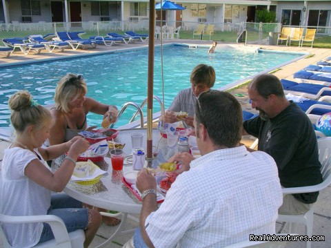 Poolside Dining (#5 of 10) - Rhumb Line Resort