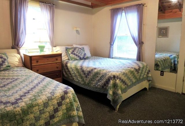 Standard 2 Dbl Bed cottage room - Shorelands Guest Resort, casual Maine Cottages