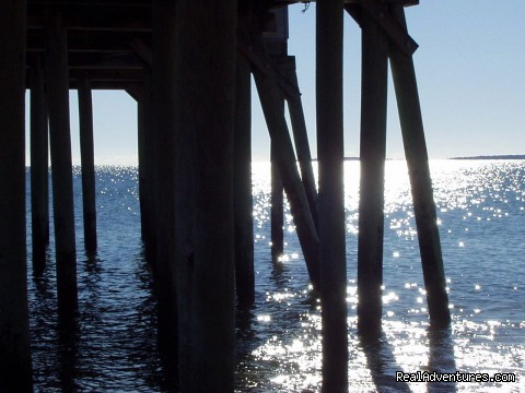 High Tide under the Pier (#20 of 25) - Atlantic Birches Inn