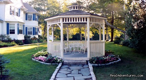 Garden Gazebo - Atlantic Birches Inn