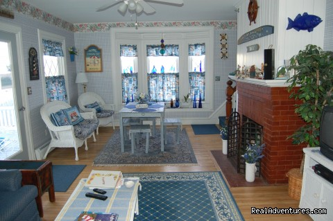 Cottage Living Room (#18 of 25) - Atlantic Birches Inn