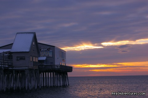 Pier at Sunrise (#21 of 25) - Atlantic Birches Inn