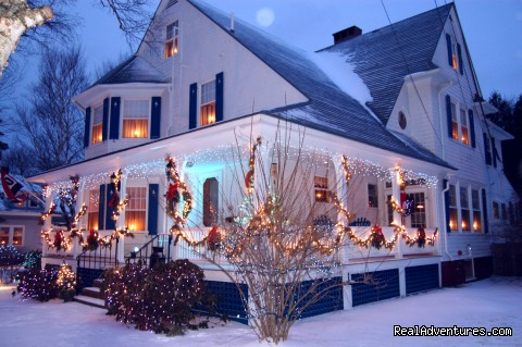 Main House at Christmas (#23 of 25) - Atlantic Birches Inn