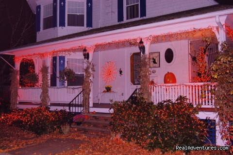 Main House at Halloween (#25 of 25) - Atlantic Birches Inn