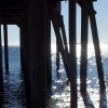 High Tide under the Pier