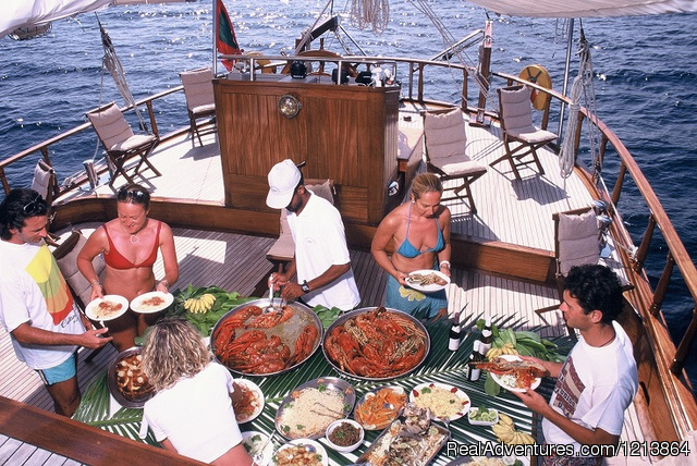Dining - Special Dive Cruise in Maldives