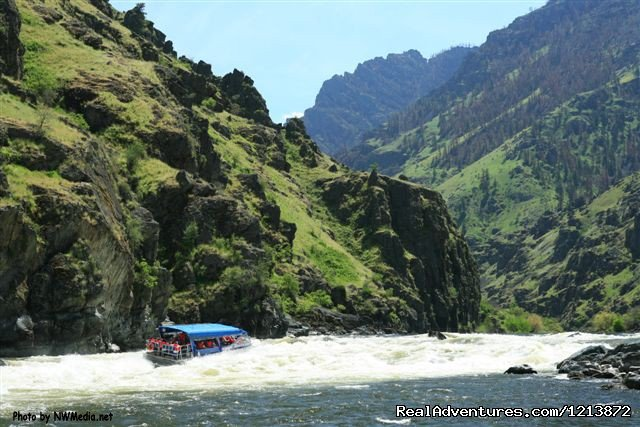 Image #1/1 | White Bird, Idaho  | Sight-Seeing Tours | Wilderness -Jet Boat Tours in Hells Canyon -
