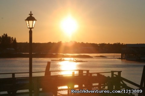 Sunset at the Inn (#2 of 8) - Your Waterfront Destination, Boothbay Harbor Inn