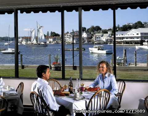 Waterfront Dining Room - Your Waterfront Destination, Boothbay Harbor Inn