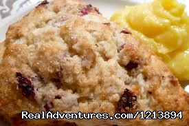 We do offer a full buffet breakfast- Blueberry Lemon Scone. (#14 of 26) - Boothbay HarborHarbour Towne Inn on the Waterfront
