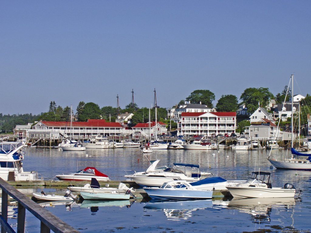 Tugboat Inn From The Water | Image #1/17 | Boothbay Harbor, Maine  | Hotels & Resorts | Getaway to the Coast at the Tugboat Inn
