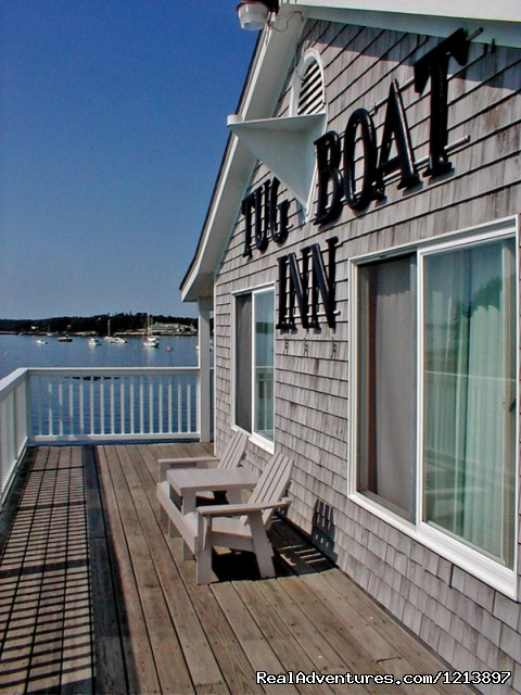 Tugboat Deck (#7 of 18) - Getaway to the Coast at the Tugboat Inn