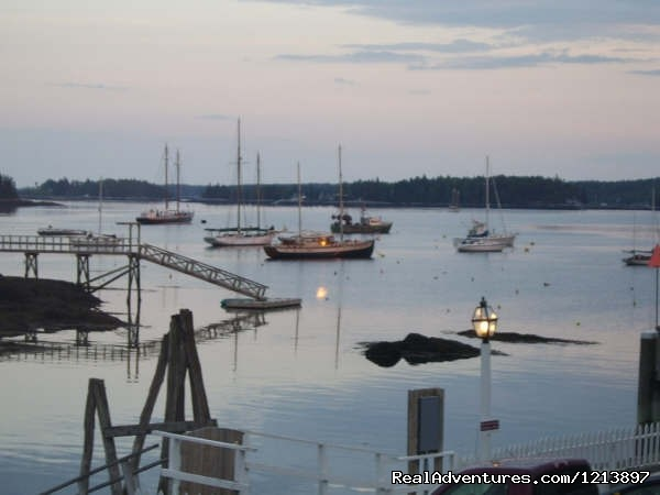 View of Boothbay Harbor - Getaway to the Coast at the Tugboat Inn