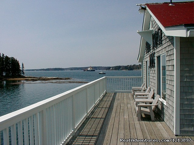 View from a Tugboat Deck (#13 of 18) - Getaway to the Coast at the Tugboat Inn