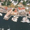 Aerial View of the Tugboat Inn & Marina