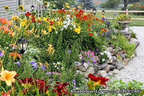 16 Acres of Gardens And Grounds, Camden Maine Inn - Camden ME Oceanfront B&B Romantic Hideaway Inn