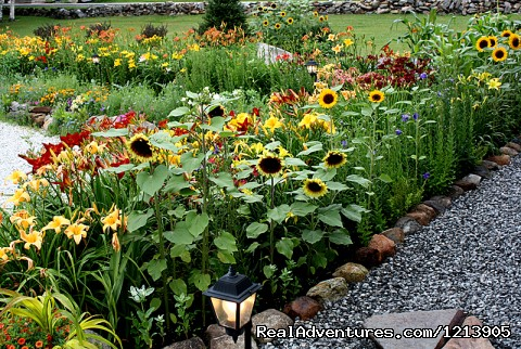 Gardens At Cedarholm Garden Bay Inn - Camden ME Oceanfront B&B Romantic Hideaway Inn