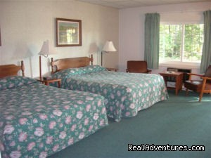 Standard 2 queen bed room (#6 of 8) - Acadia Pines Motel