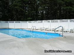 48 ft. heated pool - Acadia Pines Motel