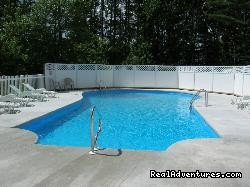 48 foot heated pool - Acadia Pines Motel