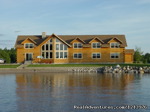 5 Lakes Lodge from the water! - A Unique Waterfront B & B in the Heart of Maine
