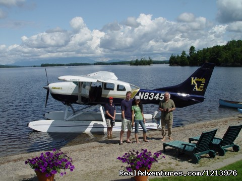 Take a scenic plane ride right from the Lodge! (#5 of 18) - A Unique Waterfront B & B in the Heart of Maine