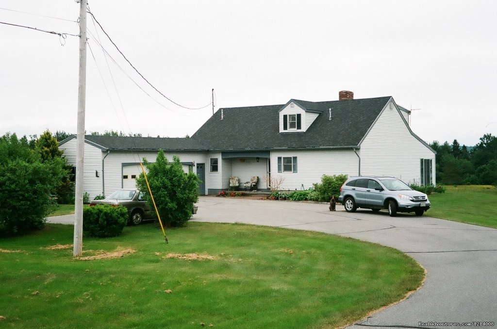 Beautiful home located on 3 acres of fields with unrestricted views of Frenchman's Bay.