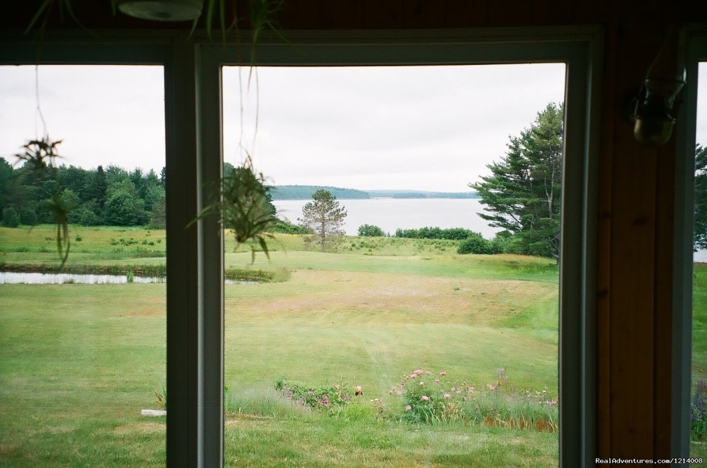 View from eating porch | Image #8/8 | Serene with breathtaking views at Capt'n N Eve's