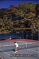 Old Fort Inn Tennis Court