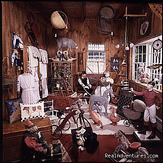 Antique Shop - Old Fort Inn
