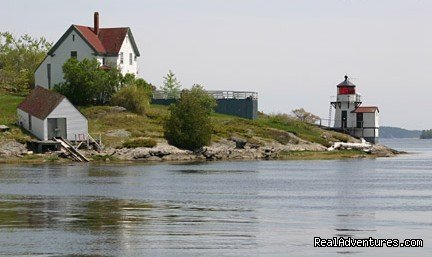 Squirrel Point Light | Image #25/26 | Maine Coast Vacations Scenic White Rocks Cottage