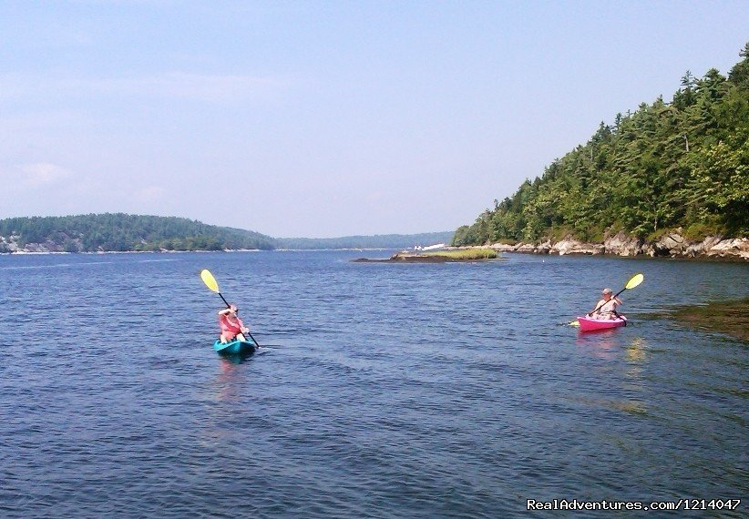 Kayaking at White Rocks | Image #8/26 | Maine Coast Vacations Scenic White Rocks Cottage