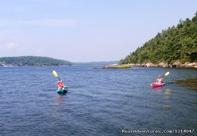 Kayaking at White Rocks (#8 of 26) - Maine Coast Vacations Scenic White Rocks Cottage