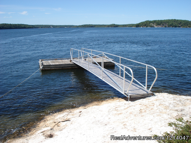 White Rocks Private Dock - Maine Coast Vacations Scenic White Rocks Cottage