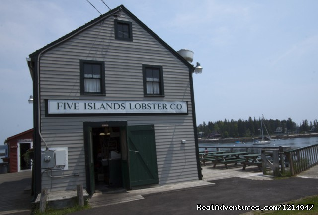 Five Islands Lobster Co. - Maine Coast Vacations Scenic White Rocks Cottage