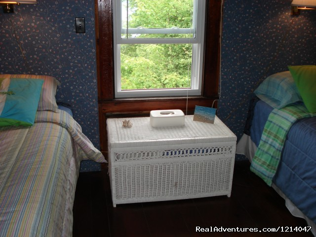White Rocks Second Bedroom - Maine Coast Vacations Scenic White Rocks Cottage
