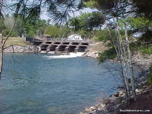 The Best of Grand Lake Stream is Canal Side Cabins Vacation Rentals Grand Lake Stream, Maine