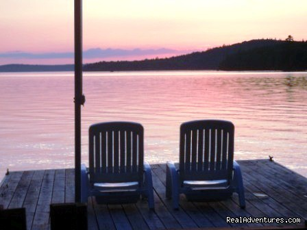 Cozy Moose Maine Cabins, Waterfront - Moosehead Cabin Adventure - Lake, Mountain & Moose