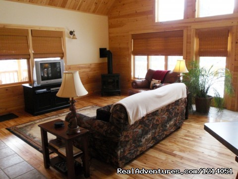 Moosehead Lake, Maine Cozy Moose Cabins - Moosehead Cabin Adventure - Lake, Mountain & Moose