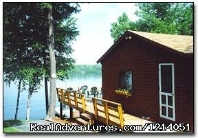 Moosehead Lakefront Cabin at The Cozy Moose - Moosehead Cabin Adventure - Lake, Mountain & Moose