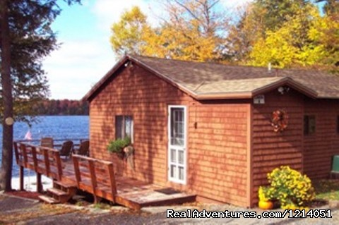 Maine Cabin Rental, Cozy Moose Lakeside Cottage (#13 of 26) - Moosehead Cabin Adventure - Lake, Mountain & Moose