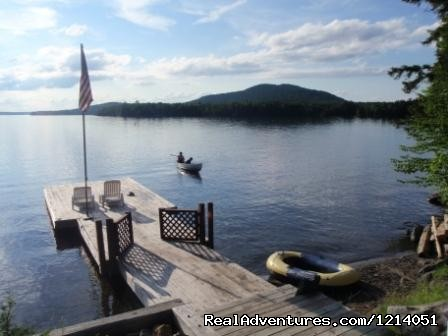 Moosehead Lake Waterfront Cozy Lakeside Rentals - Moosehead Cabin Adventure - Lake, Mountain & Moose