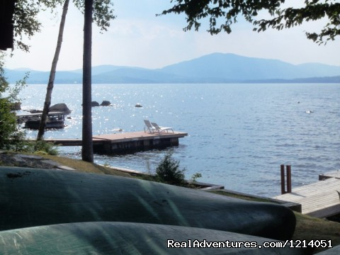 Moosehead Lake Big Moose & Little Moose Mountain Lake Views - Moosehead Cabin Adventure - Lake, Mountain & Moose