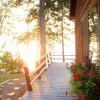 Sunset Cabin Moosehead Lake at The Cozy Moose