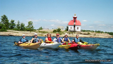Image #8 of 15 - Georgian Bay 30,000 Island Kayak Adventures