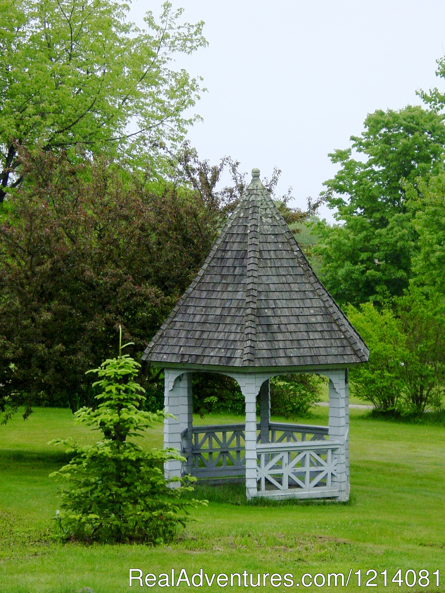 Gazebo In Front Yard