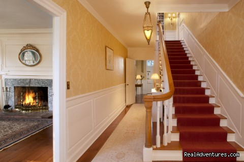 The original main staircase - 1774 Inn