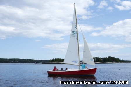 Sailing on the Bay - New England's Only All-Inclusive Sailing Resort