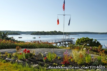 Main Dock and Gardens (#1 of 16) - New England's Only All-Inclusive Sailing Resort