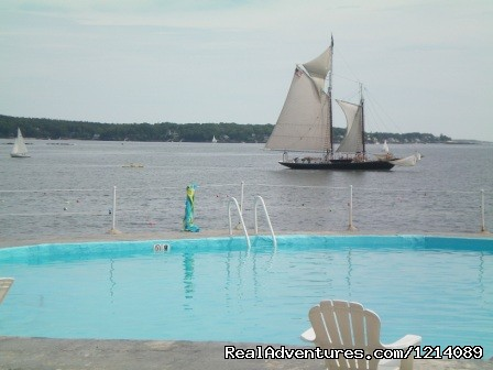 Heated Salt Water Pool on the Edge of the Bay (#8 of 16) - New England's Only All-Inclusive Sailing Resort